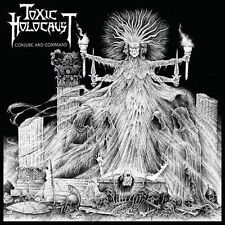 Toxic Holocaust-Conjure and Command CD speed thrash metal importazione