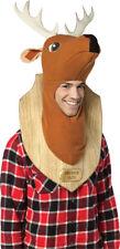 Morris Costume Men's Taxidermy Stuffed Trophy Head Deer Costume One Size. GC6472