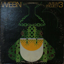 WEBN (Cincinnatti) ALBUM PROJECT 3-NM1978LP Local Band Compilation