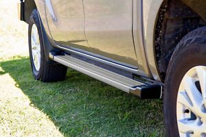 EGR Side Steps for 2012 to mid 2020 Mazda BT-50 Dual or Extra Cabs - Silver