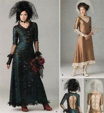 SIMPLICITY 1772 LADIES STEAMPUNK-VICTORIAN BRIDE  TOURING DRESS pattern  12 -20