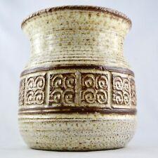 Céramique Vase Marcel GIRAUD VALLAURIS 50/60/ceramic art/capron/la borne/vintage
