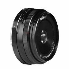 Meike MK-28mm F2.8 Multi Manual Focus Lens for Olympus M4/3-mount EM1/M/M10/EP5