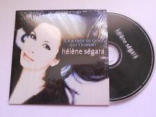 Hélène Ségara / Il y a trop de gens qui t'aiment  - cd single