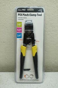 "Apollo Pex Pinch Clamp Tool 3/8"", 1/2"" & 3/4"" Auto Release Ratchet 851-561"