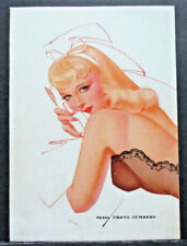 PETTY 1941 PINUP CALENDAR COVER PAGE