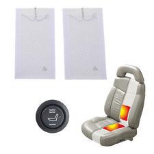 2 Stufe Schalter für 1 Sitz Auto Carbon Universal Sitzheizung Heizmatten KFZ PKW