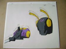 TRANSFORMERS GENERATION 1 DECEPTICONS INSECTICON ANIME PRODUCTION CEL