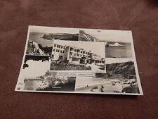 Real photo Postcard - Trecarn Hotel- Babbacombe - Torquay Devon