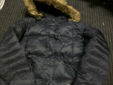 New Men's Rocawear Puffer Faux Fur Hooded Grey Coat Size X-Large Brand New!