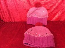 Cupcake Knitted Adult Winter Bobble Hats Unusual Funky