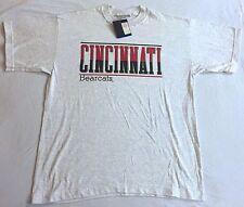 Vintage Deadstock NOS CINCINNATI BEARCATS T Shirt - L Large USA Made FREE SHIP!