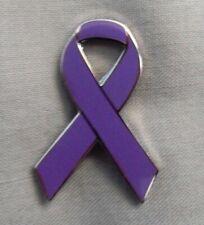 ***NEW*** Fibromyalgia Awareness ribbon enamel pin badge. Pain, Charity.