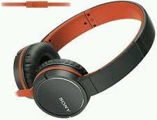 Sony MDR-ZX660AP Auriculares-Naranja. con micrófono. entrega UK LIBRE.