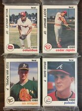 1990 Best SOUTHERN OREGON A's  Minor League Complete UNOPENED Team Set B2018617