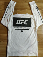 Reebok UFC Rashguard Mens Sweatshirt Track Jacket Long Sleeve Jersey H.R.S.D.