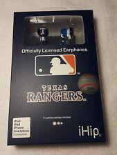 New MLB Baseball Texas Rangers IHIP Ear buds Earphones