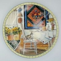 Edwin M Knowles Table Trouble Hannah Hollister Ingmire Collector Platte 1991