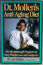 """NEW*UNOPENED* """"Dr. Mollen's Anti-Aging Diet~Easy Weight-Loss"""" HC/DJ"""