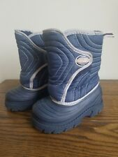 Toddler Boys STRIDE RITE Thermolite Blue Winter Snow Boots 7 M