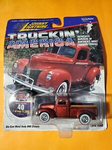 Johnny Lightning 1997 TRUCKIN' AMERICA 1940 FORD Collector #40 Maroon Limited