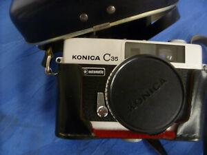 Schöne Kamera - Konica C 35 Automatik - Vintage