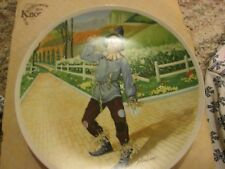 Knowles Collectible Decorative Plate Wizard Of Oz Scarecrow Brand New
