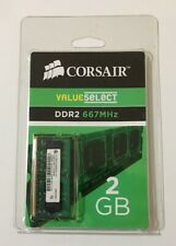 Corsair 2 GB SO-DIMM 800 MHz DDR2 Memory (VS2GSDS667D2G) - BRAND NEW
