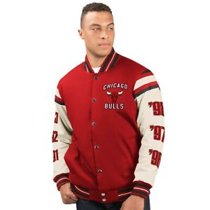 Chicago Bulls 6 Time NBA Finals Champions Victory formation Varsity Jacket