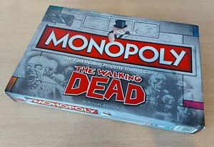 The Walking Dead Monopoly, Boxed, 100% Complete, Hasbro, Great Condition.