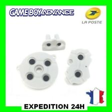 Silicone caoutchouc conducteur boutons GameBoy Advance GBA Top Qualité GZ