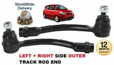 FOR KIA PICANTO 1.0 1.2 2011 > 2x FRONT OUTER LEFT + RIGHT TIE TRACK ROD END