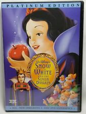 Walt Disney Snow White and the Seven Dwarfs (DVD, 2001, 2-Disc Set, Special Ed)