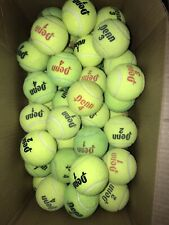 65 Penn Te 00006000 nnis Balls, Used, Red And Black Letters