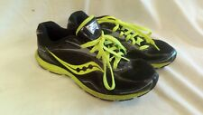 SAUCONY GRID SPEED NEON GREEN RUNNING SHOES MENS SIZE 8 EUR 41