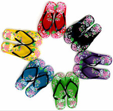 Women's Floral Wedge Sandals & Flip Flops
