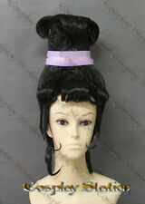 Beetlejuice Cartoon Lydia Deetz Custom Made Cosplay Wig_commission981