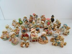 COLLECTION OF 33 CHERISHED TEDDIES FIGURINES 1994 PRISCILLA HILLMAN         #ET#