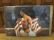 Vintage Rocky IV the movie 1985 small poster NICE  10816