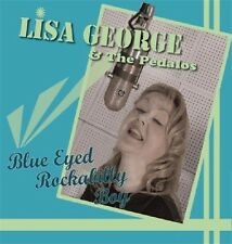 LISA GEORGE Blue Eyed Rockabilly Boy CD - NEW - Fantastic Female Rock 'n' Roll