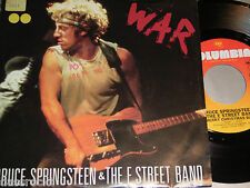 """7"""" Bruce Springsteen / War (Live) & Merry Christmas Baby (Live) - US First Press"""