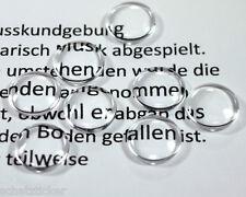 Glas Cabochons 10mm , 10 Stück schön leicht Gewölbt