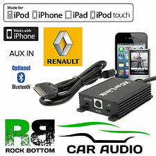 Renault Espace 2003 On Car Radio AUX IN iPod iPhone Bluetooth Interface Cable