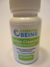 Essential Being Colon Cleanser 26 tablets 10/2019 FREE SHIP MAKE OFFER #D1