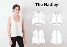 HADLEY Top by Grainline Studio- Advanced Beginning Sewing Pattern- Sizes 0-18