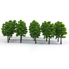 20 Light Green Tree Model Train Railroad Diorama Wargame Diorama Scale HO OO