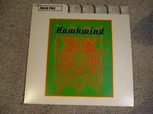 LP - HAWKWIND (BROCK) - THE ROCK FILE - PROG ROCK