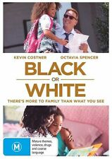 Black Or White (DVD, 2015) R4 PAL NEW & SEALED FREE POST