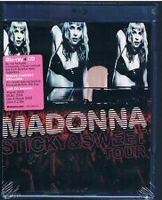 MADONNA STICKY & SWEET TOUR BLU RAY + CD SIGILLATO!!!