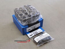 Supertech 85lb Dual Valve Spring & Steel Retainer Kit Honda B16 B18 DOHC VTEC